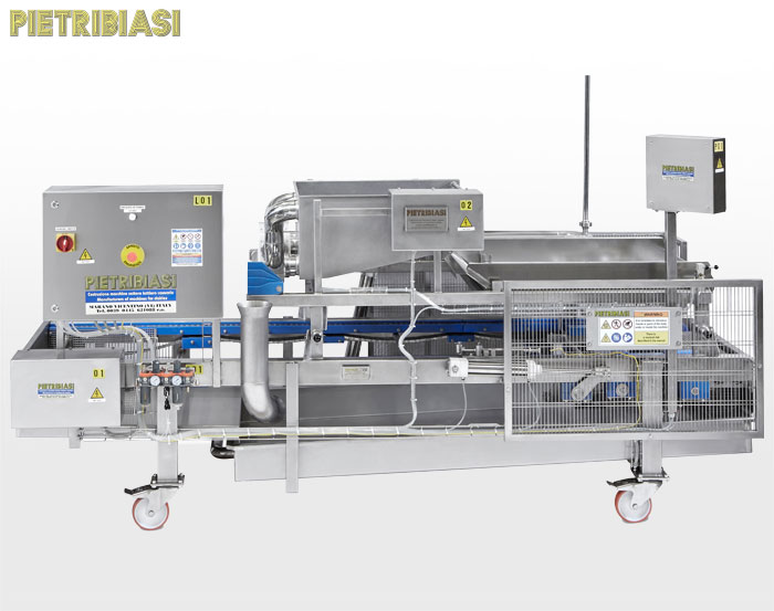 Cheesemaking - Cheese distribution and moulding machine