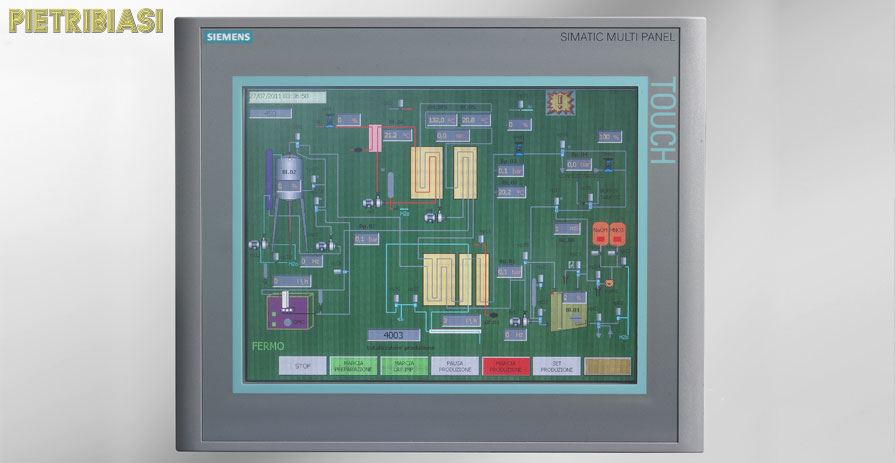 UHT – special PLC panel