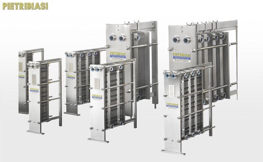 Reception and storage – plate heat exchangers