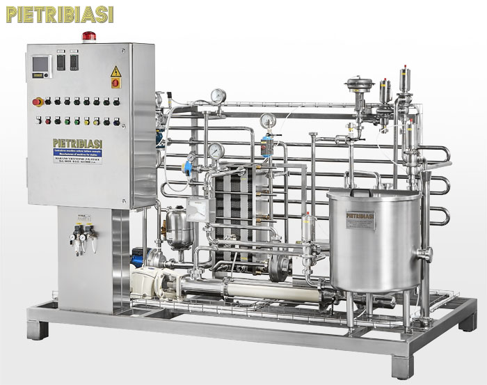 Wine and beer pasteurization