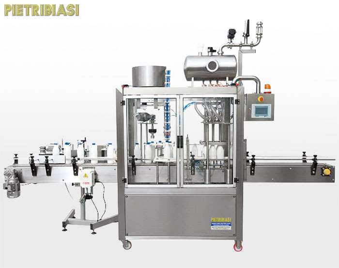 Yoghurt packaging plant