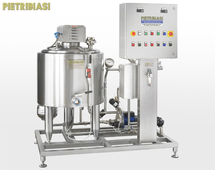 Ageing tank for yoghurt -  100 l capacity